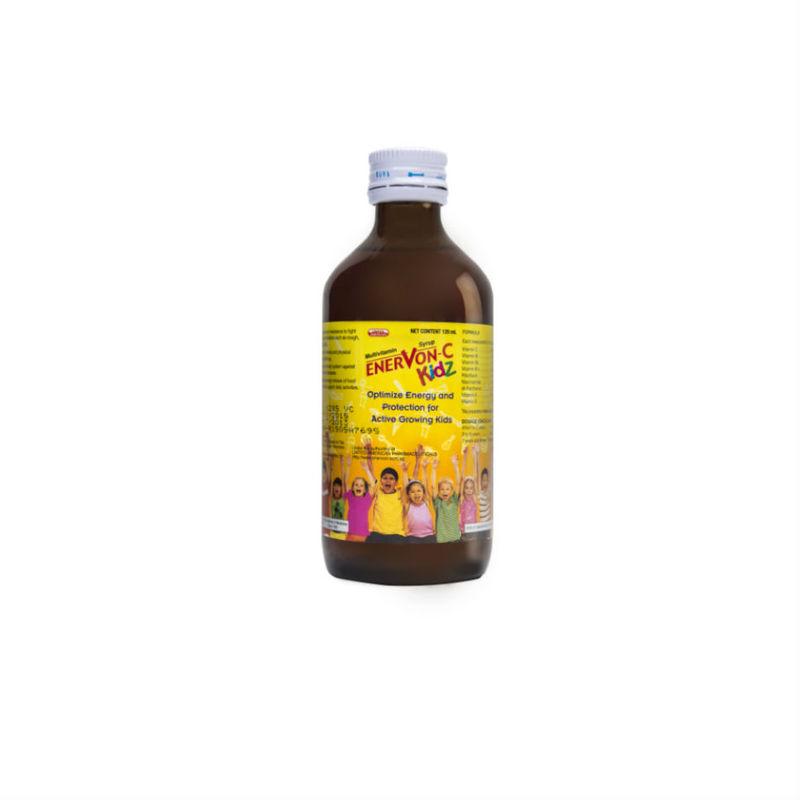 Enervon C Kidz Multivitamin Syrup, 120ml