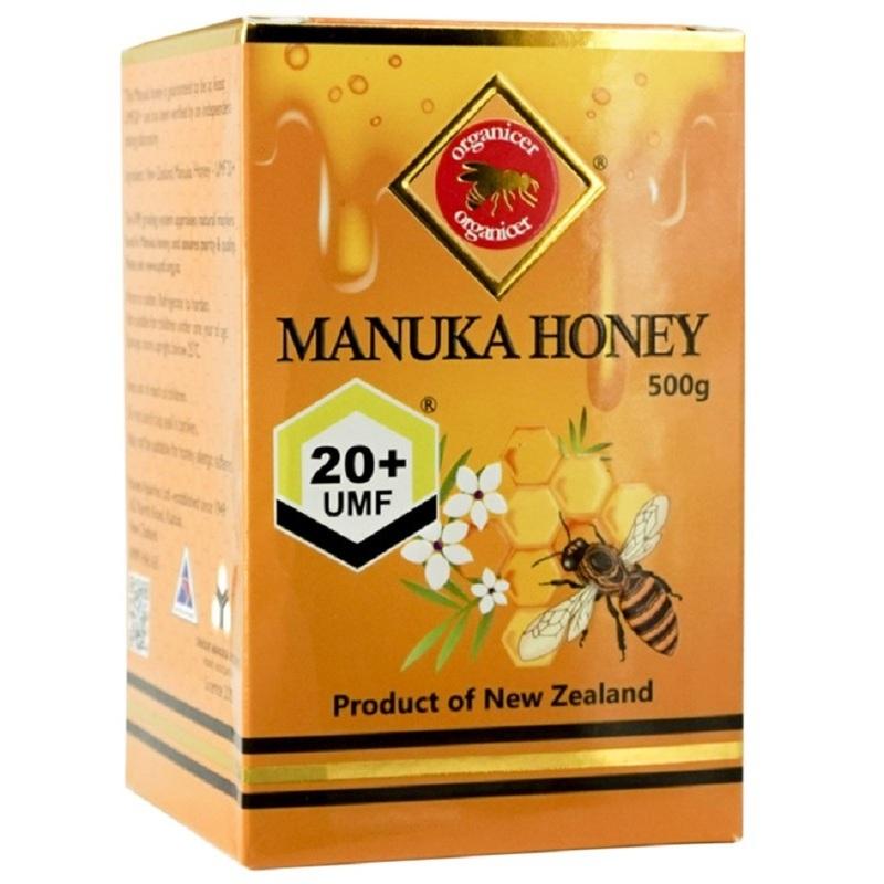 Organicer Manuka Honey 20+ Umf, 500g