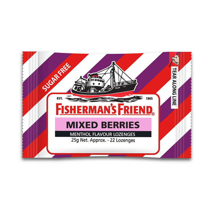 Fisherman's Friend Mixed Berries Lozenges, 25g