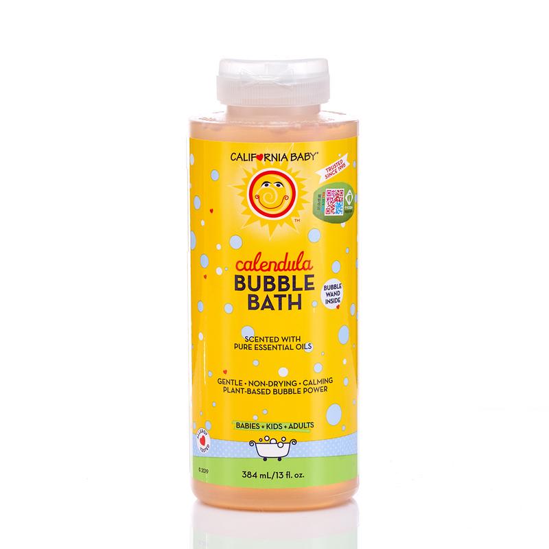 California Baby Calendula Bubble Bath 384mL