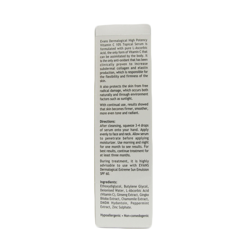 Evans Vitamin C 10% Topical Serum, 30ml