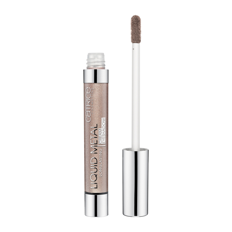 Catrice Liquid Metal Long Lasting Cream Eyeshadow 04 Brown Under, 6ml