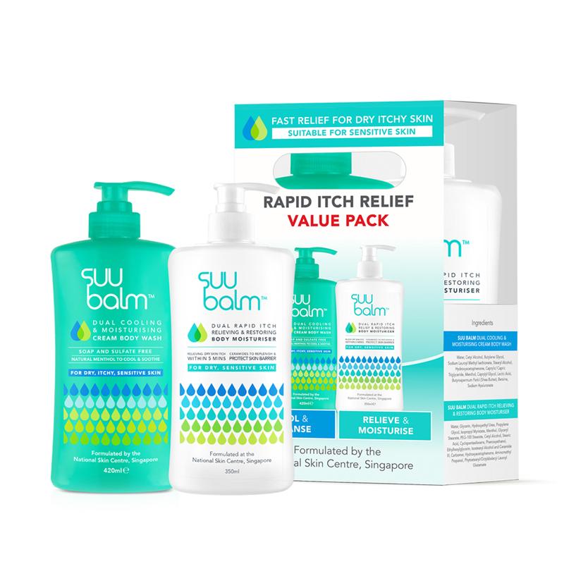 Suu Balm Cream & Wash Pack 350 + 420ml