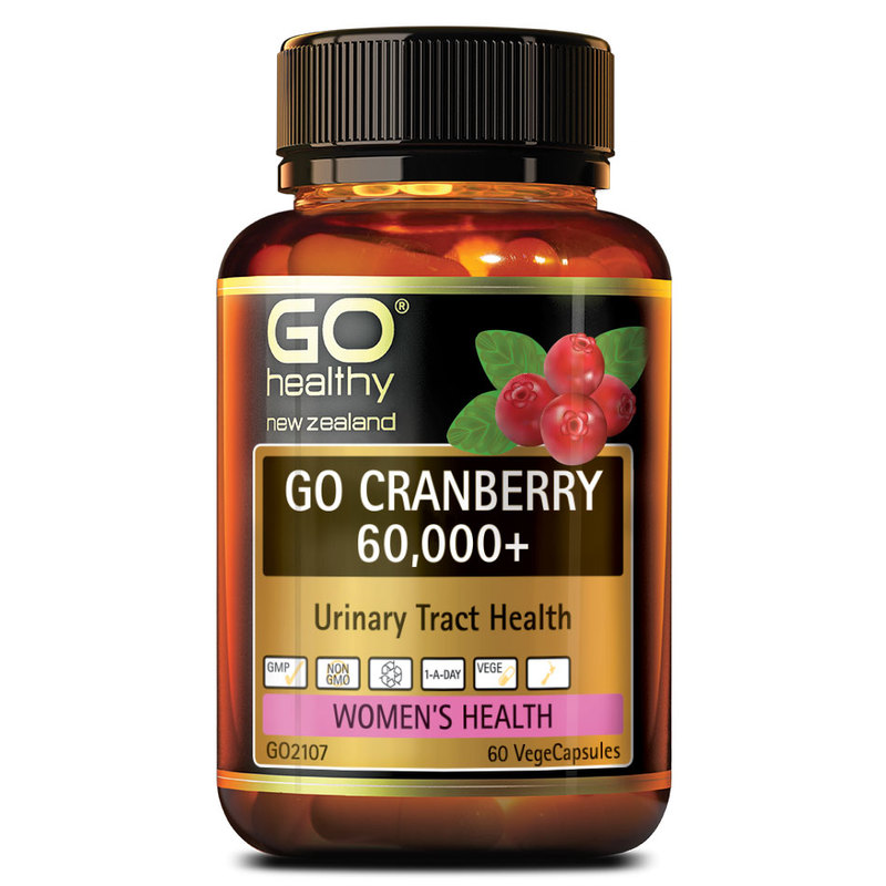 GO Healthy Cranberry 60000+, 60 capsules