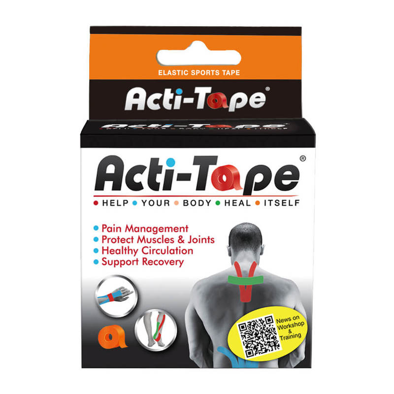 Acti-Tape Orange Sports Tape 5cm x 5m