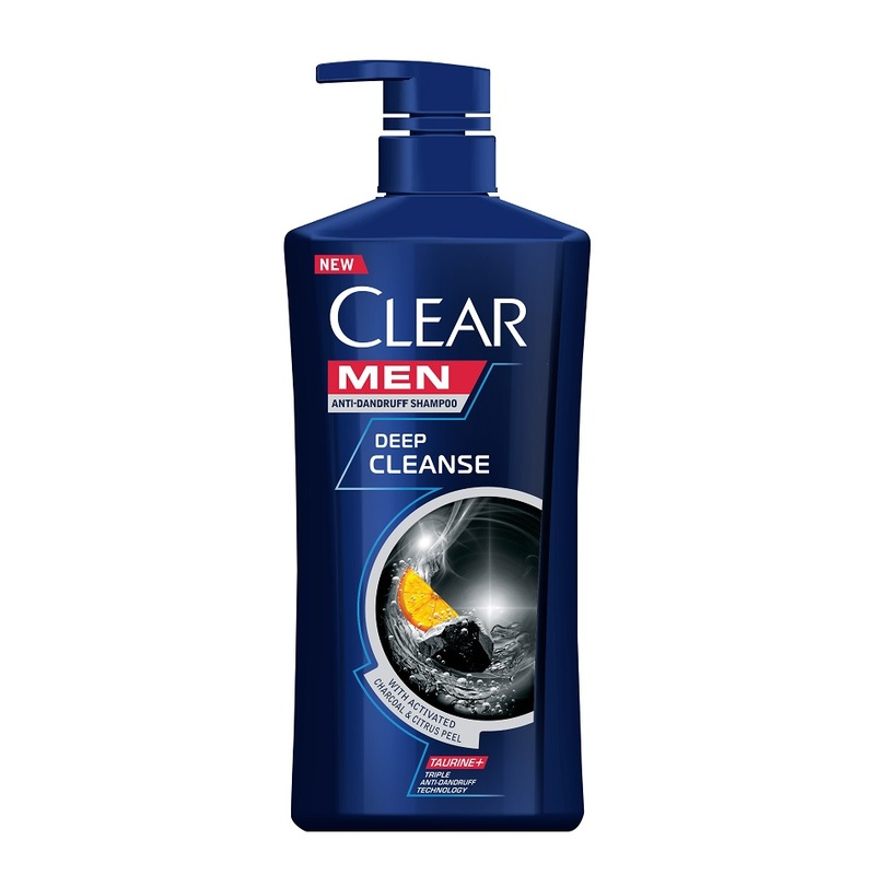 Clear Men Deep Cleanse Anti Dandruff Shampoo, 650ml