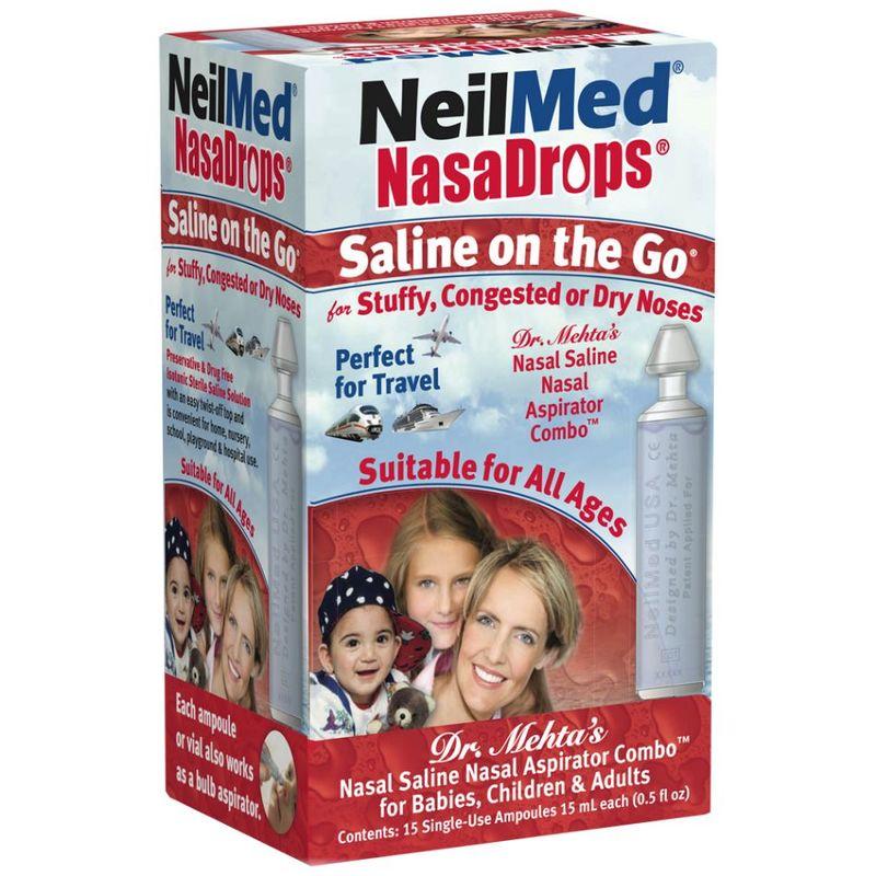 NeilMed Nasadrops Ampoules, 15ml