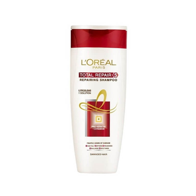L'Oreal Total Repair 5 Shampoo, 330ml