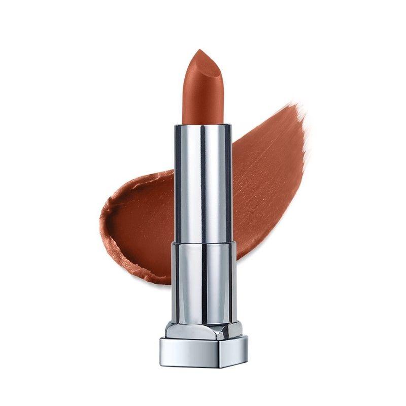 Maybelline Color Sensational Creamy Matte Lipstick City Heat 01 Midtown Pink 3.9g