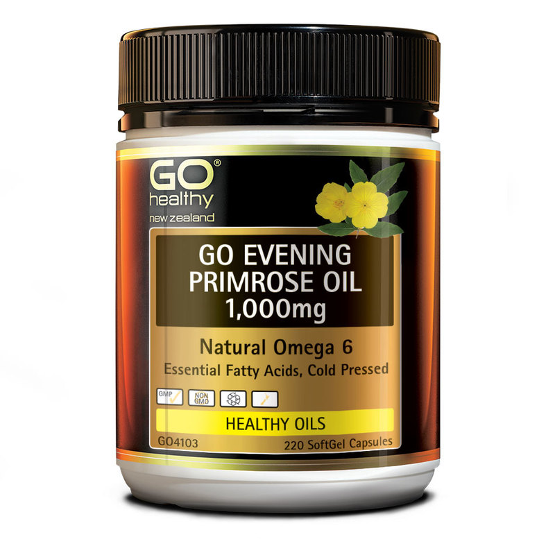 GO Healthy Evening Primrose Oil 1000mg, 220 capsules