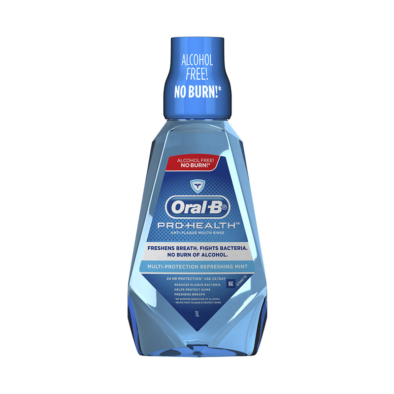 Oral-B Pro Health Anti-Plaque Mouth Rinse, 1L