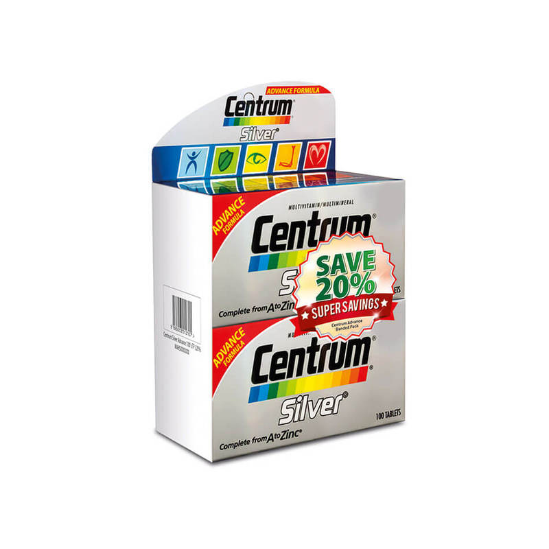 Centrum Silver Multivitamin Twin Pack