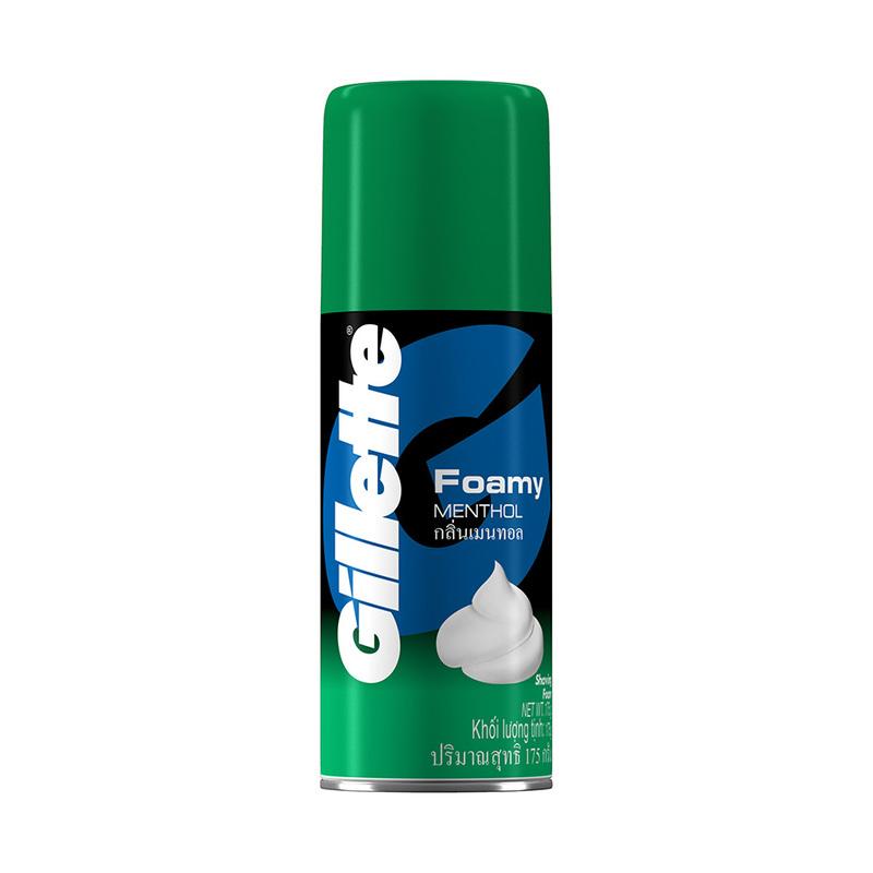 Gillette Foamy Shave Prep Foam Menthol, 175g