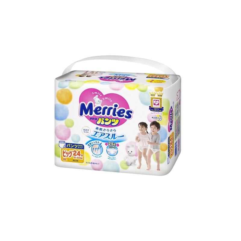 Merries Pants XL 24pc