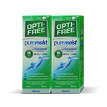 Alcon Opti-Free® PureMoist® Multi-Purpose Disinfecting Solution 300mL X 2 bottles + Hand Sanitizer