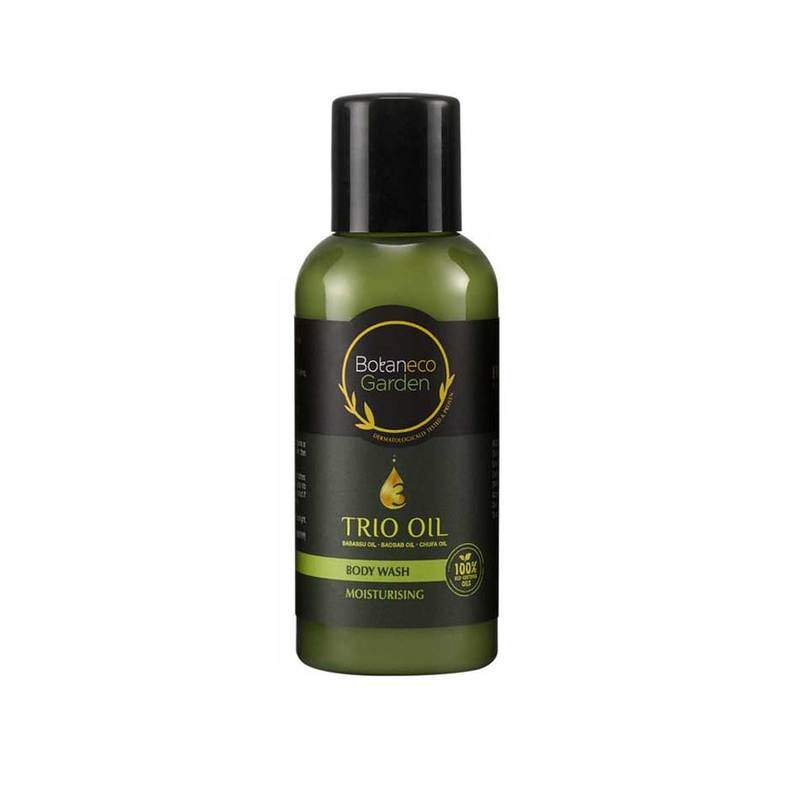 Botaneco Garden Trio Oil Body Wash Moisturising, 60ml
