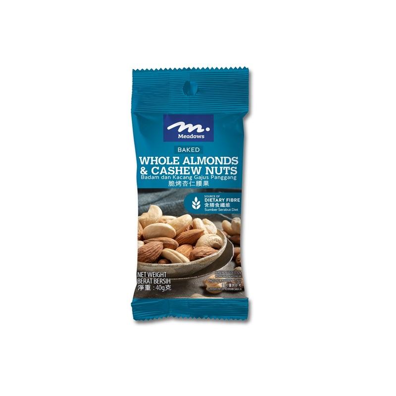 Meadows Baked Almond+Cashew 40g