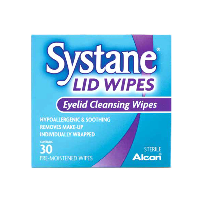Alcon Systane Eyelid Cleansing Wipes, 30pcs