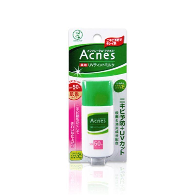 Mentholatum Acnes UV Tinted Milk Spf50, 30g