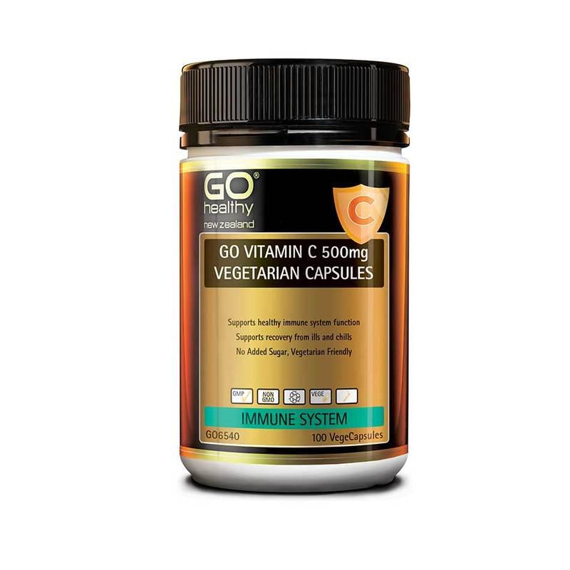 Go Healthy Vitamin C 100 Vegetarian Capsules