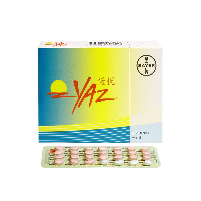 Yaz Contraceptive Pills 28 Tablets