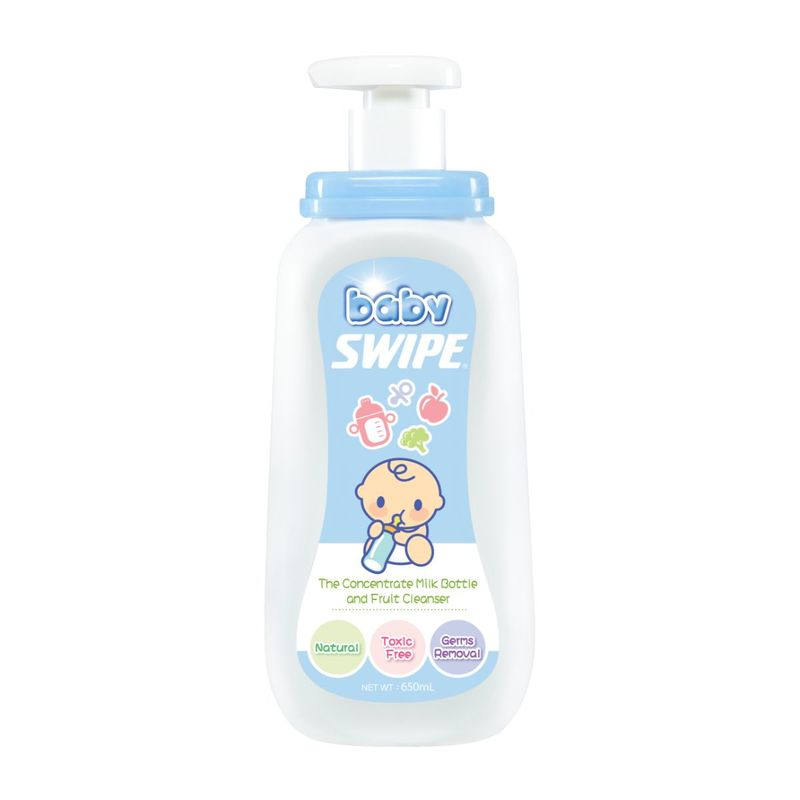 Baby Swipe Milk Bottle&Fruit Cleanser 650mL