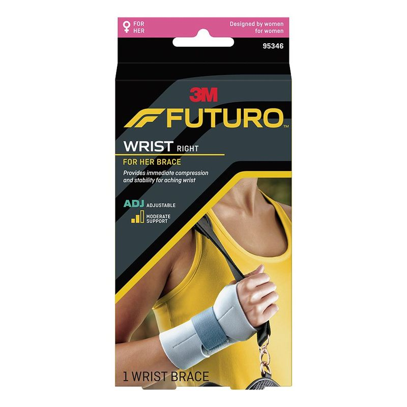 Futuro For Her Wrist Brace Adjustable Righthand