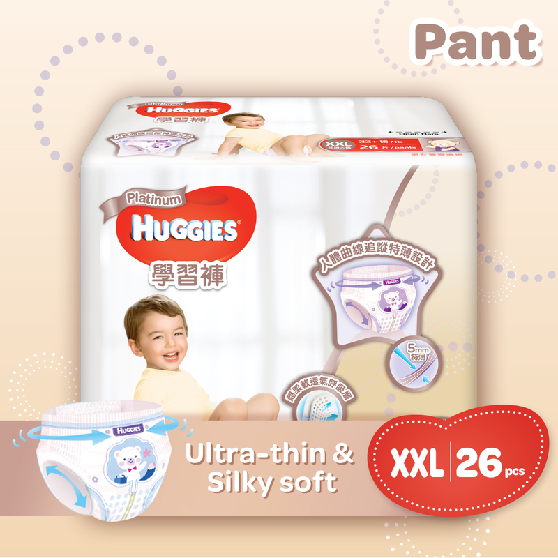 Huggies Platinum Pants XXL 26pcs