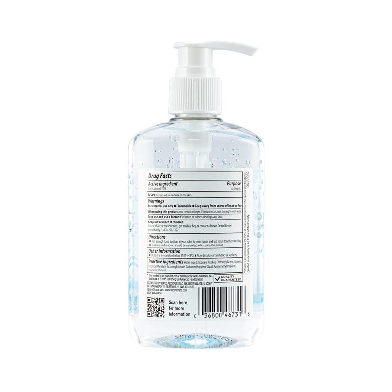 Topcare Vitamin E Hand Sanitizer 236mL