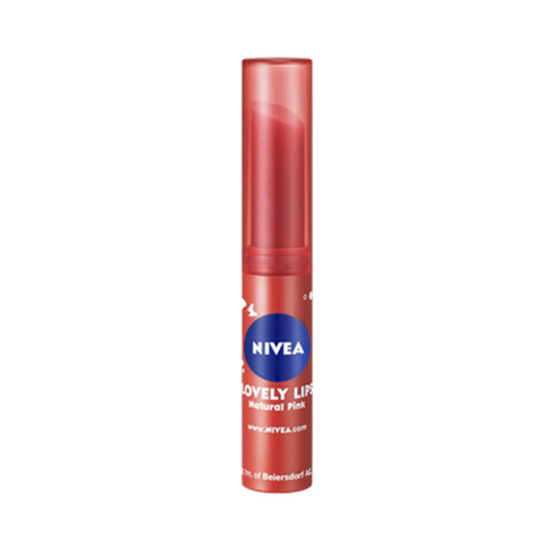 Nivea Lovely Lips Natural Pink