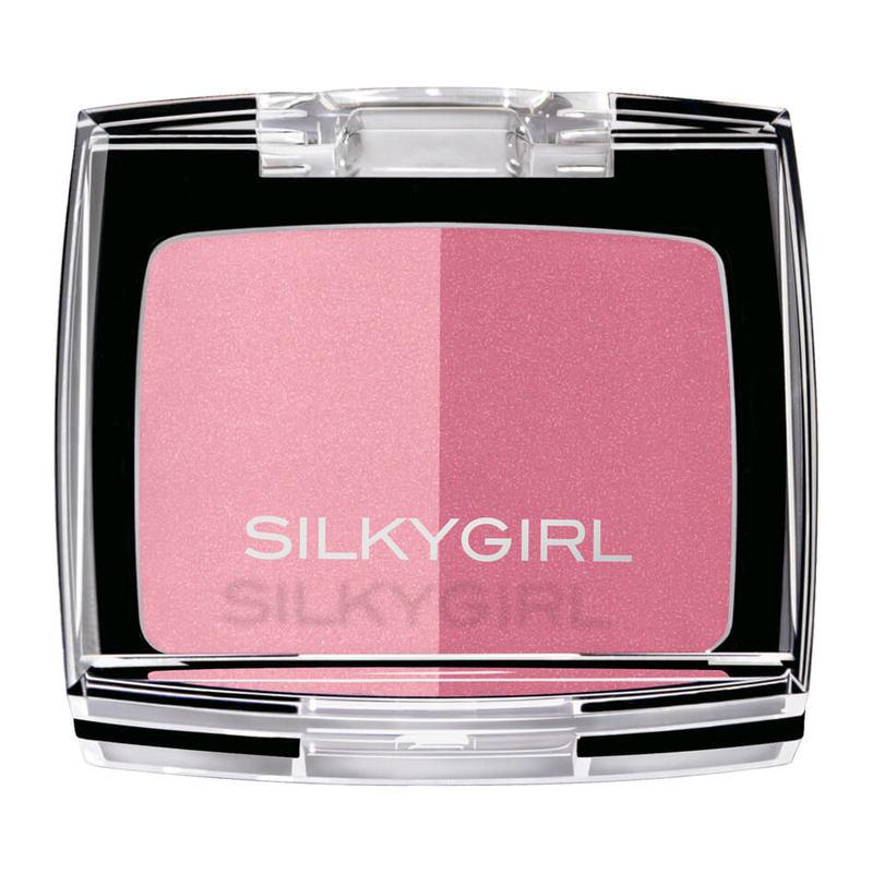 SilkyGirl  Shimmer Duo Blusher - 03 Rose Petal 4g