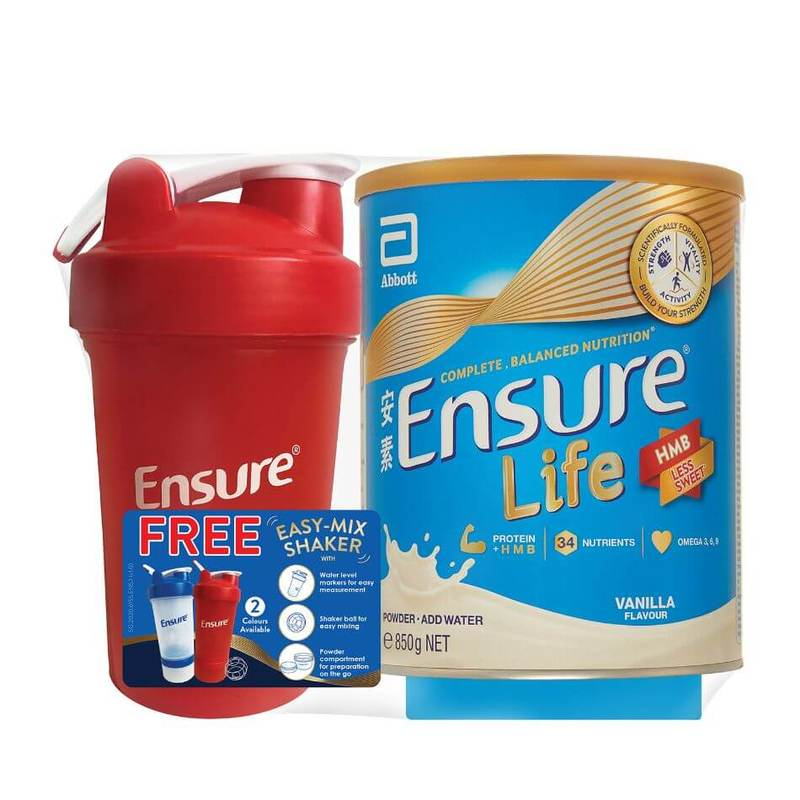 Ensure Vanilla 850g BW Shaker