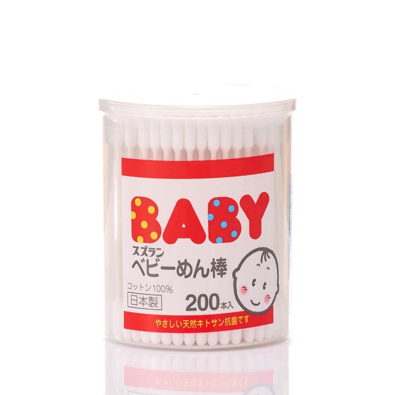 Suzuran Baby Cotton Buds 200pcs