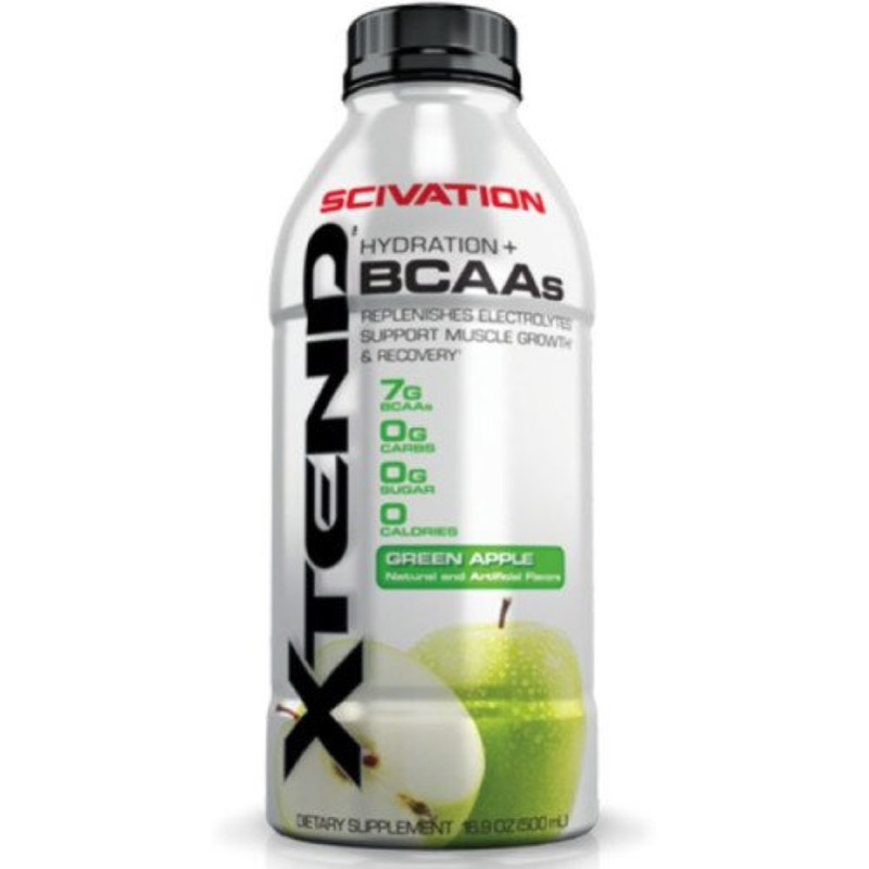 Scivation Xtend BCAA Green Apple Drink, 500ml
