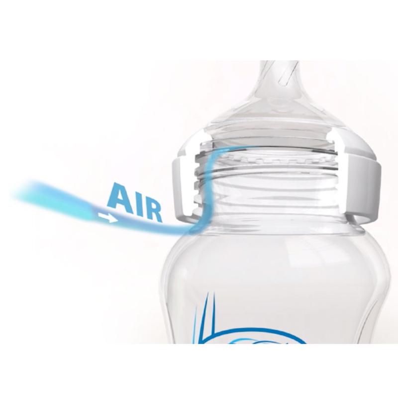 Dr.Brown's Options+ Glass Bottle 9oz X2pcs