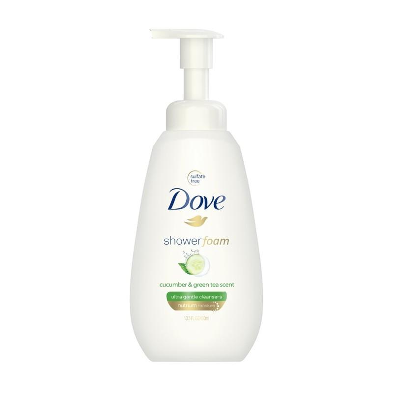 Dove Shower Foam Cucumber & Green Tea, 400ml