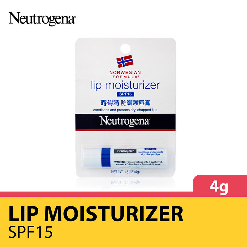 Neutrogena Lip Moisturizer With SPF 15, 4g