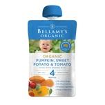 Bellamys Pumpkin, Sweet Potato &, Tomato 120g