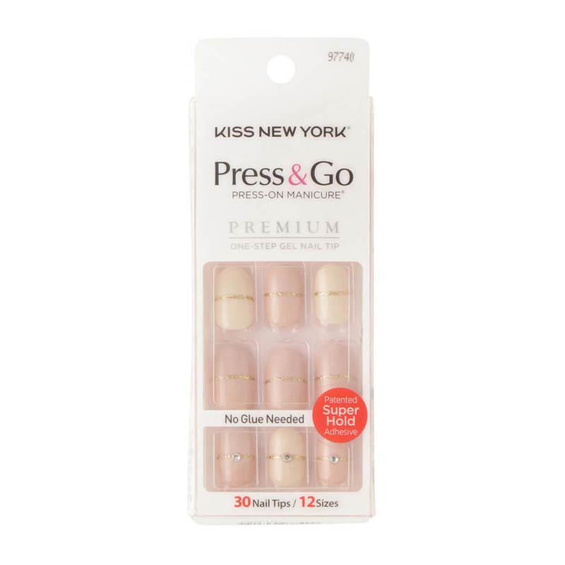 Kiss New York Press & Go Gel Nails PNGO111J
