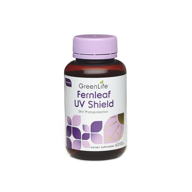 GreenLife FernLeaf UV Shield, 60 capsules