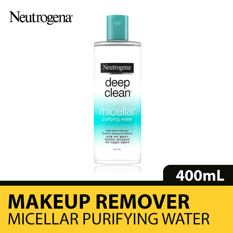 Neutrogena Deep Clean Micellar Water, 400ml