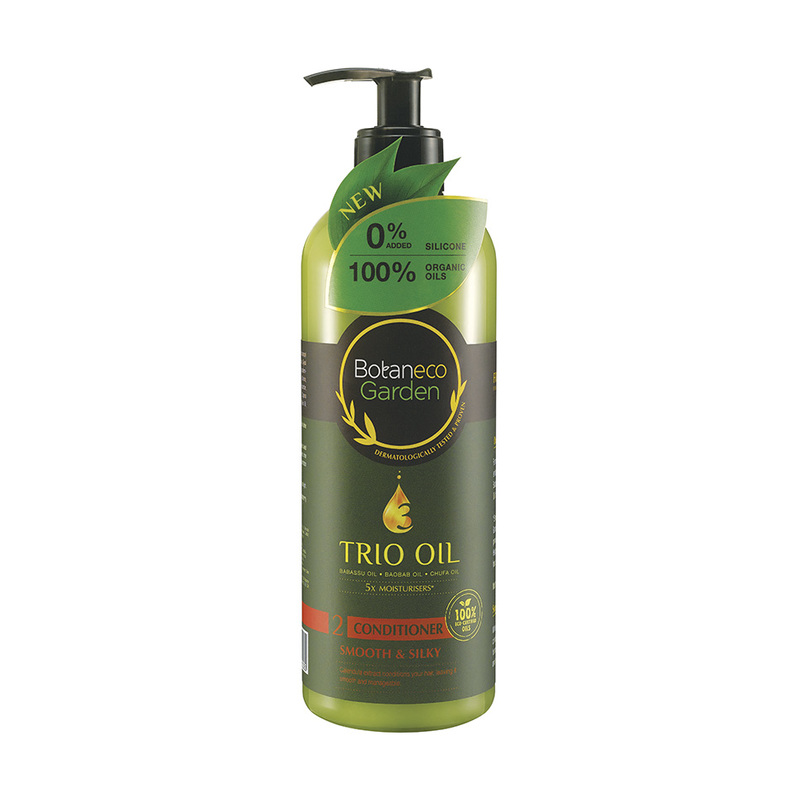Botaneco Garden Trio Oil Conditioner Smooth & Silky, 500ml
