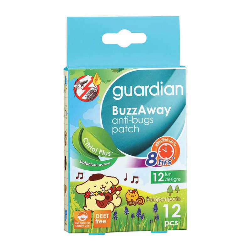 Guardian Buzzaway Pompompurin Patch Citriol Plus, 12pcs