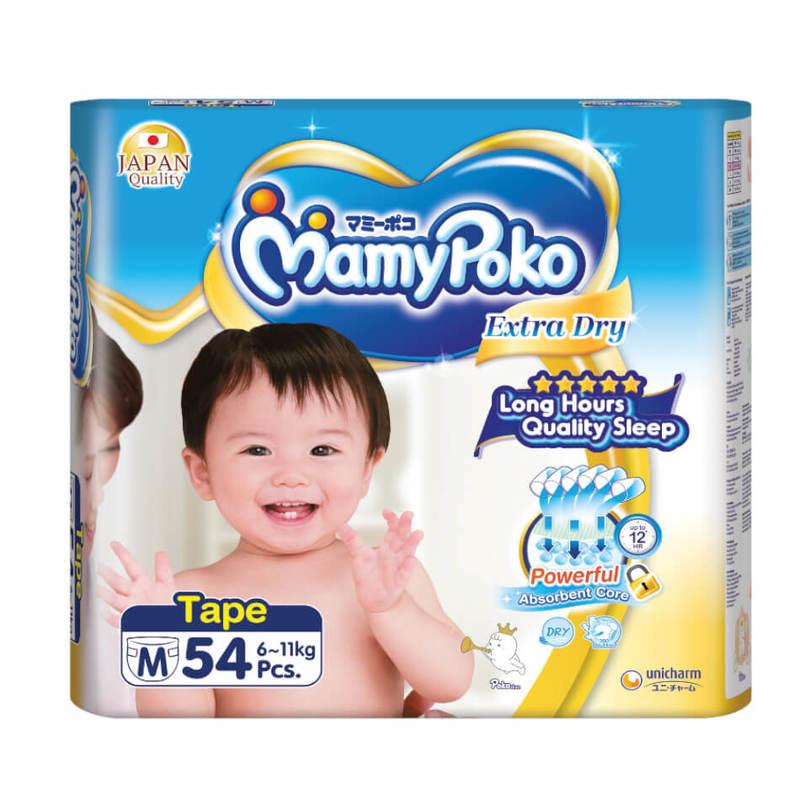 Mamy Poko Extra Dry Tape M54