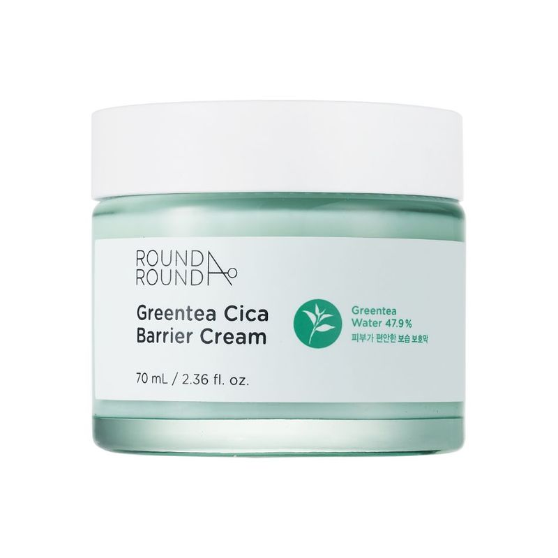 Round A'Round Greentea Cica Barrier Cream 70ml