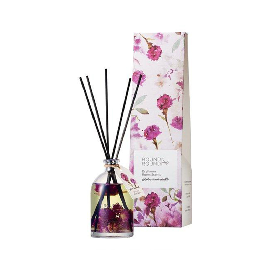Round A Round Dryflower Diffuser Globe Amaranth 145ml Round A Round Guardian Singapore
