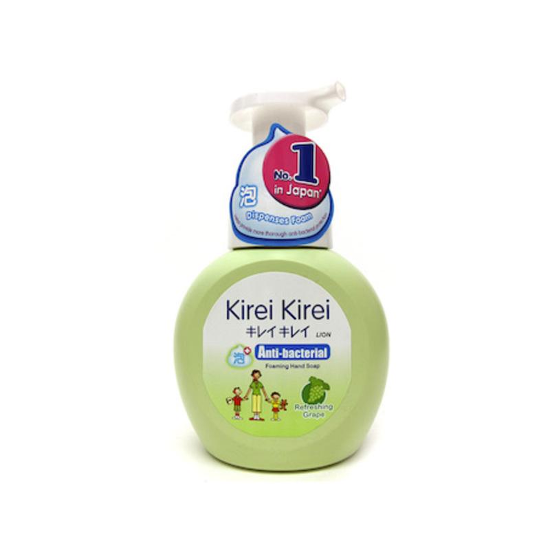 Kirei Kirei Anti-Bacterial Foaming Hand Soap Refreshing Grape, 250ml