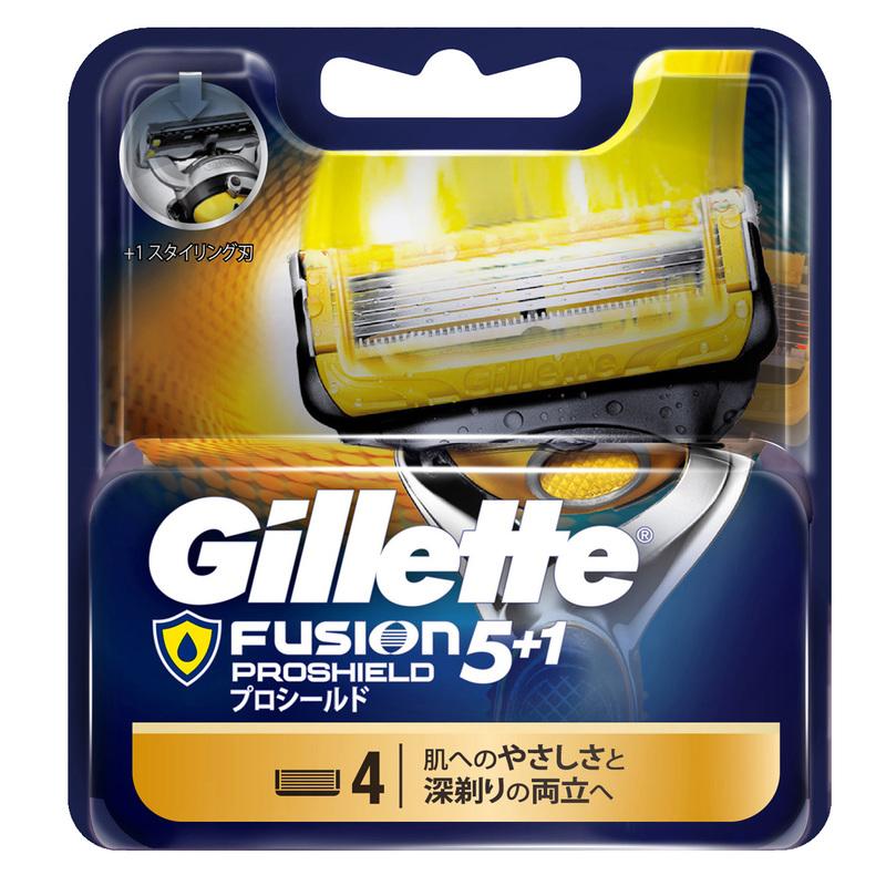 Gillette Fusion Pro Base Blades 4pcs
