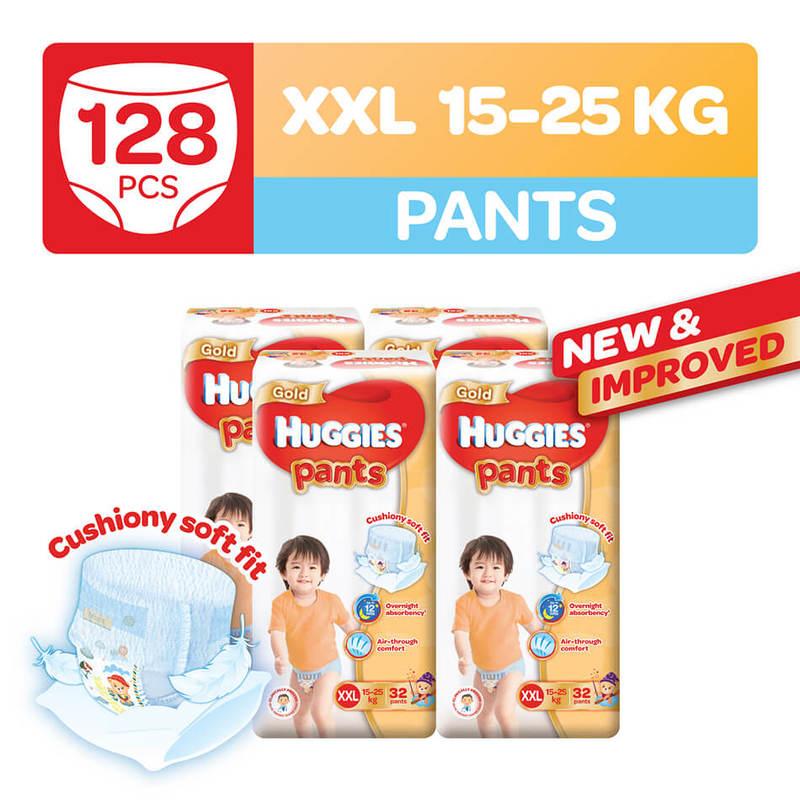 Huggies Gold Pants XXL, 32pcs