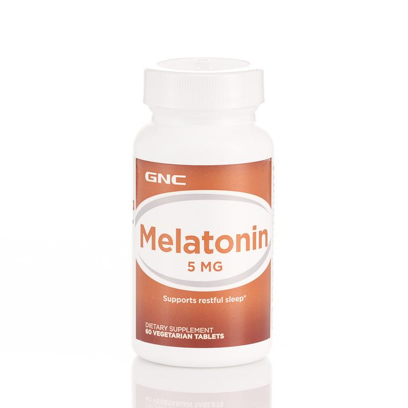 GNC Melatonin 5mg 60pcs